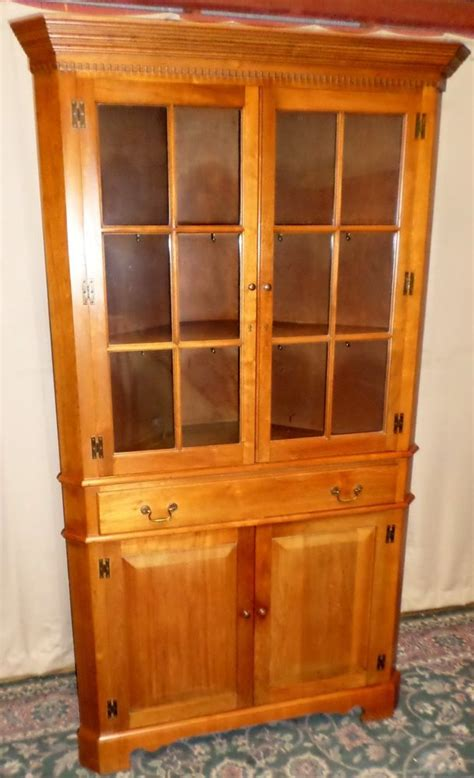 corner china cabinet ebay woodworking projects plans