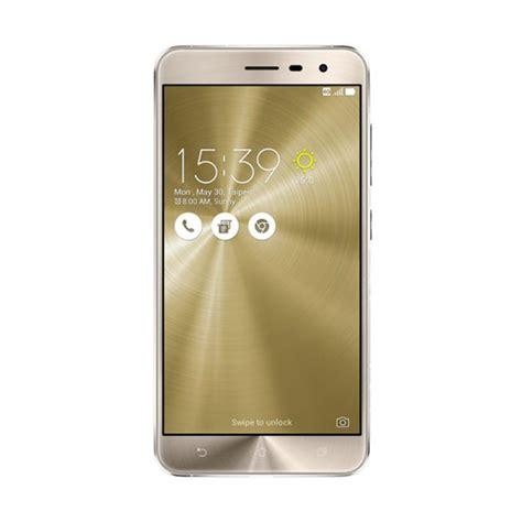 blibli zenfone 3 jual asus zenfone 3 ze552kl smartphone gold 64gb 4gb