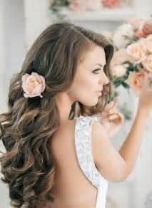 hairstyles for long hair for weddings bridesmaid images