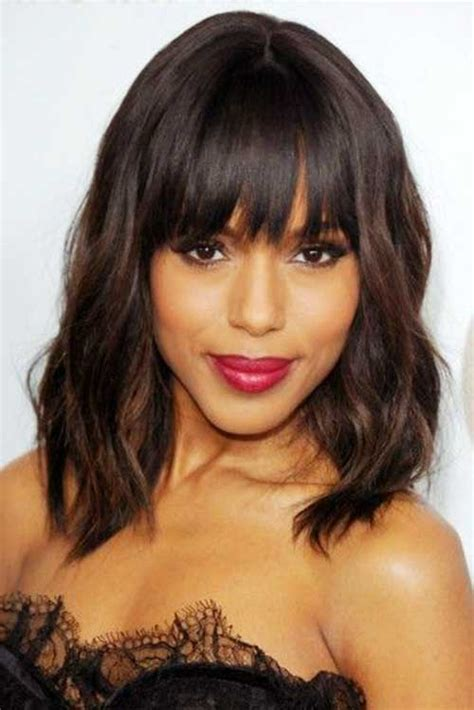 Best Hairstyles For 50 With Bangs by 50 Best Bob Hairstyles With Bangs Bob Hairstyles 2017