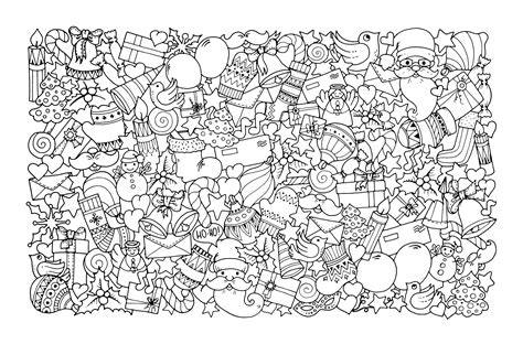 Coloring Pages Christmas For Adults | christmas coloring pages for adults best coloring pages