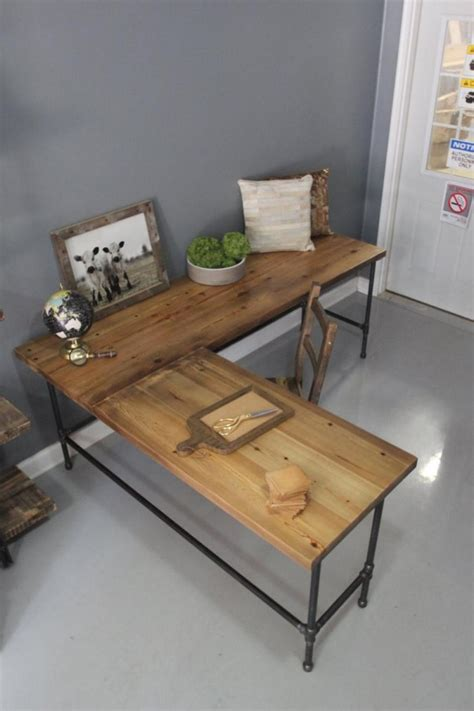 Simple Table L by Easy To Build Large Desk Ideas For Your Home Office The Home Office