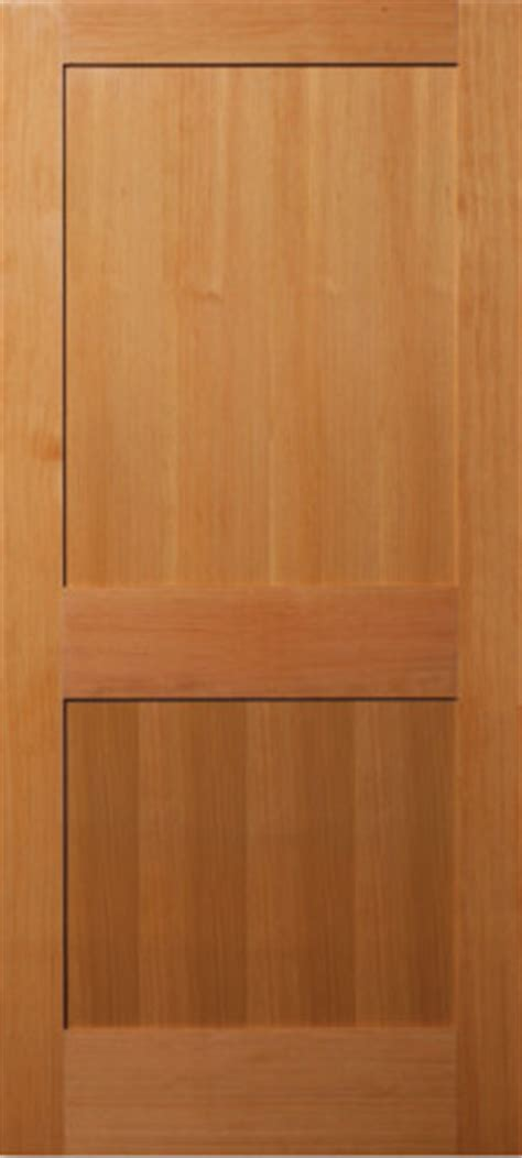 Vertical Grain Douglas Fir 2 Panel Flat Panel Interior 2 Panel Interior Wood Doors