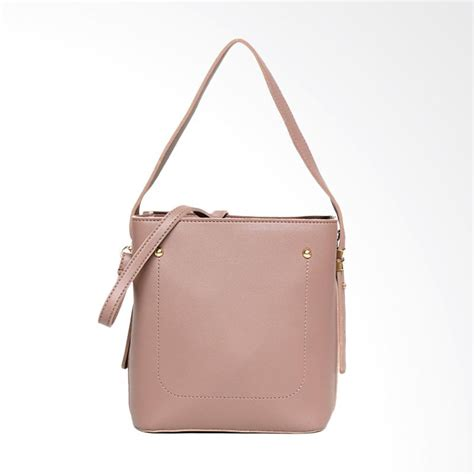 Tas Selempang Fashion Trendy High Quality S189 Pink jual vivaci maia multifungsi handbag tas selempang wanita