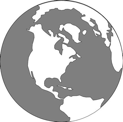 clipart mondo globe world grey 183 free vector graphic on pixabay