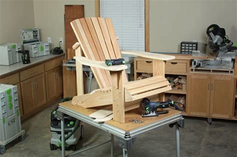 project plan  video adirondack chair plans pt