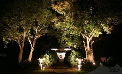 landscape lighting uplight trees tree up lighting at entryway uplights at entrance columns pathriska columns