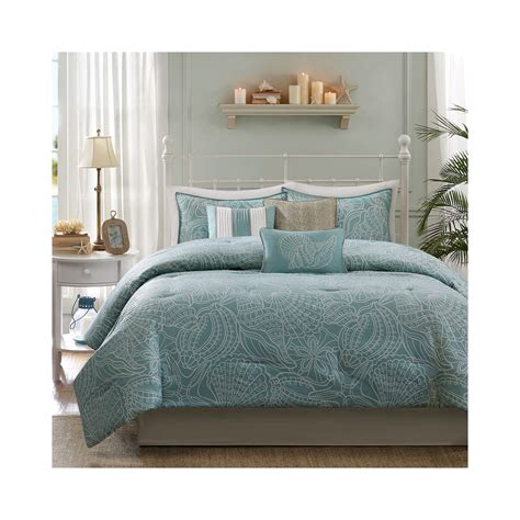 get madison park seaside 7 pc comforter set limited