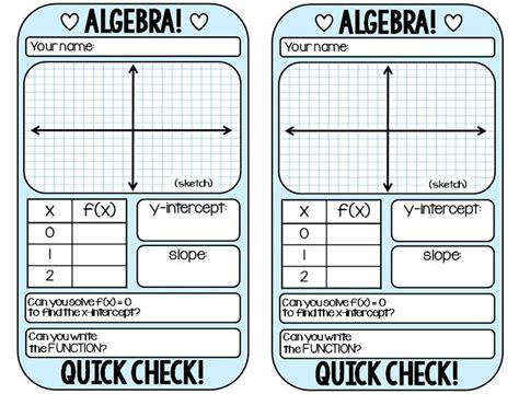 Slope Card Template by 114 Best School Math Slope Images On Linear