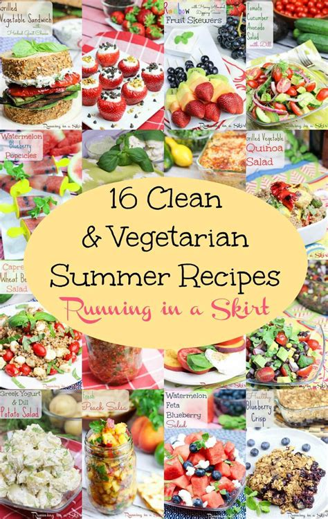 clean eating vegetarian recipes for labor day running in a skirt