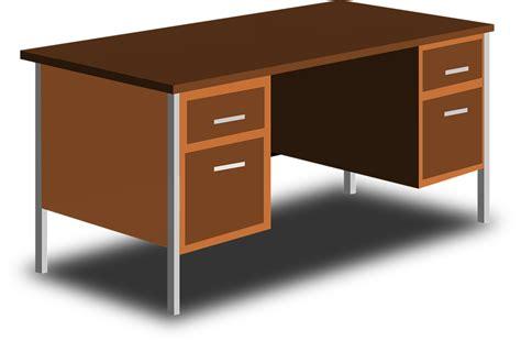 Meja Tulis Kantor gambar vektor gratis meja tulis kantor tabel gambar