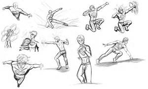 dynamic superhero poses flying pictures to pin on