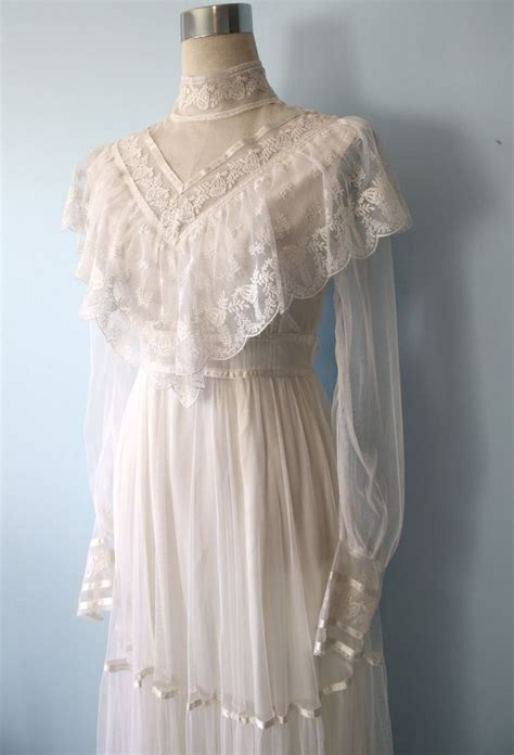 Wedding Brochures Southton by 1970s Gunne Sax Wedding Dress Style
