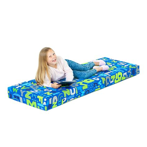 kids fold out couch bed kids character foam fold out sleep over guest single futon