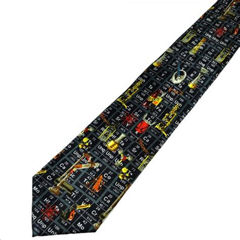 periodic table socks ties planet chemistry periodic table novelty tie from ties