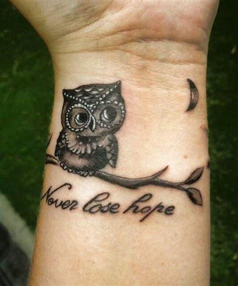 Tattoo Owl Wrist | owl tattoo wristdenenasvalencia
