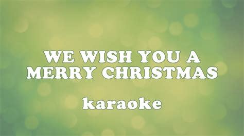 merry christmas karaoke youtube
