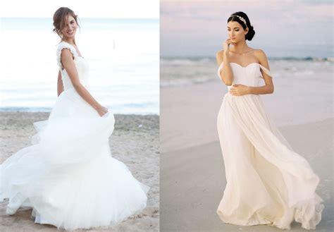 30  Gorgeous Beach Wedding Dresses! Take a Look!   Elasdress