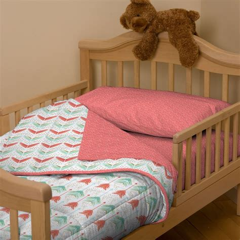 Coral And Teal Toddler Bedding Home Design Ideas Toddler Bedding