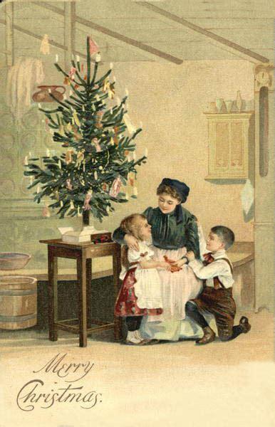 imagenes de navidad antiguas navidad vii postales antiguas