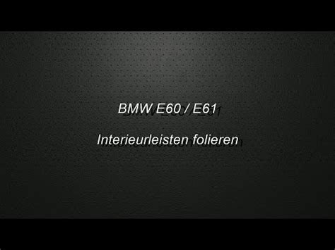 Bmw 1er E87 Interieurleisten Ausbauen by Ccc Ausbau Bmw E60 Navigationssystem Doovi