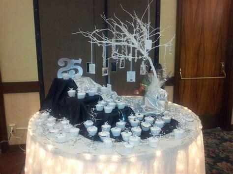 magnifica decoracion tematica  bodas de plata