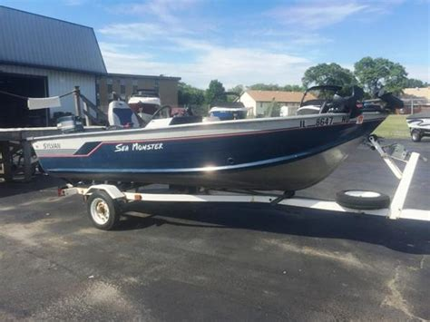 sylvan used boats used aluminum fish sylvan boats for sale boats