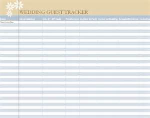 Dream List Template 17 Wedding Guest List Templates Excel Pdf Formats