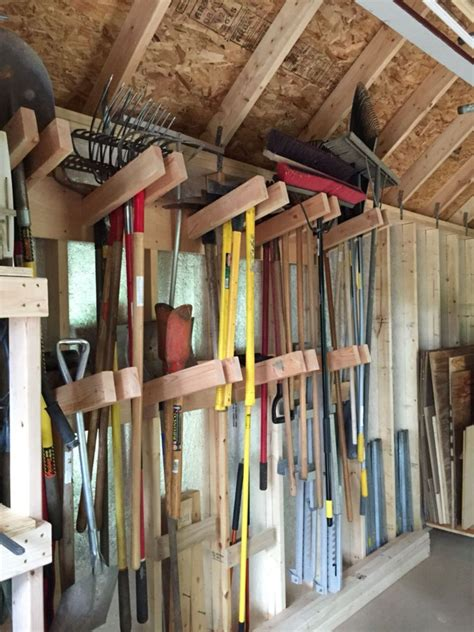 incredible shed storage ideas  goodsgn