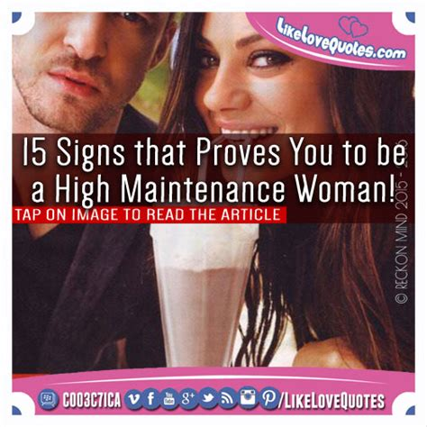 8 Signs You Are A High Maintenance by 15 Signs That Proves You To Be A High Maintenance