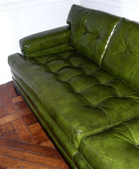 green leather couch for sale monteverdi young green leather sofa for sale at 1stdibs