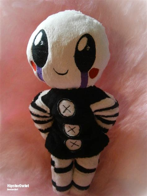 Handmade Anime Plushies - handmade fnaf plushie chibi puppet by hipsterowlet