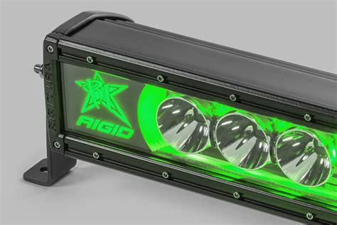 Rigid Industries 50 Quot Radiance Series Led Light Bar Green Led Light Bars