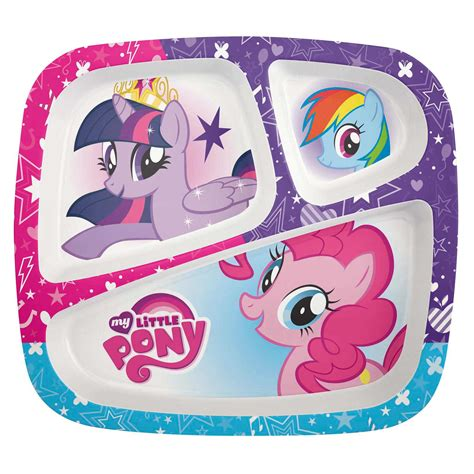 My Little Pony Divided Plate for sale   TV Series   Zak!   Zak Designs