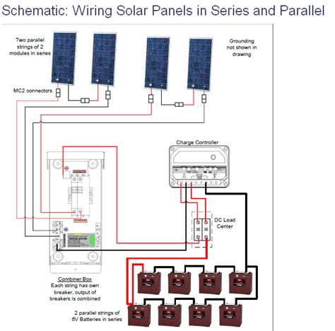 solar panel wiring diagram schematic get free image