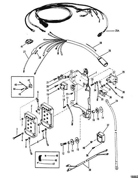 mercury marine v 175 hp wiring harness starter solenoid
