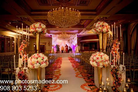 Wedding Reception Decor at The Venetian NJ   Indian