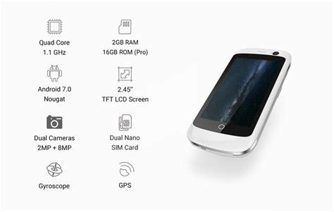 Jelly For Pro 98 jelly najmniejszy na 蝗wiecie smartfon 4g mgsm pl