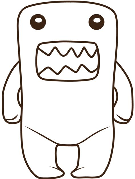 domo coloring pages cliparts co