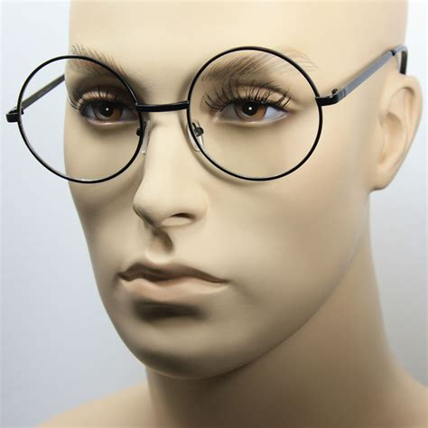 Big Frame Glasses large oversized big metal frame clear lens