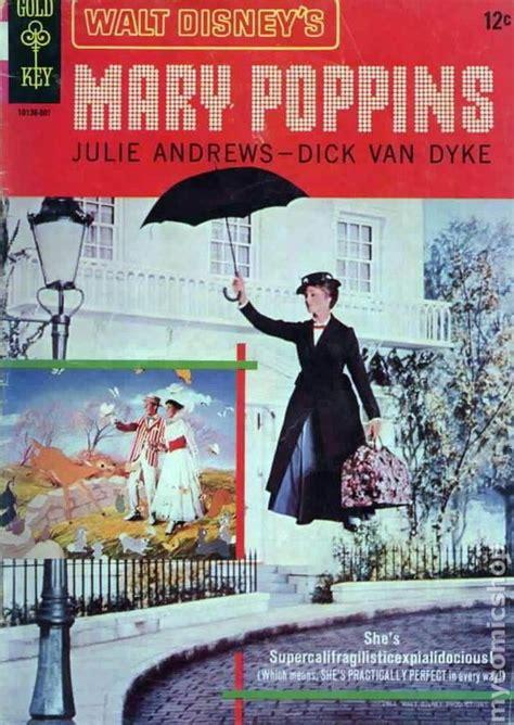 film with cartoon books mary poppins 1964 movie comics comic books