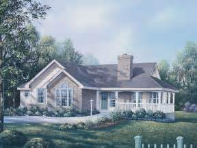 ranch house with wrap around porch house plans ranch house plans country house plans and waterfront house ranch style house with