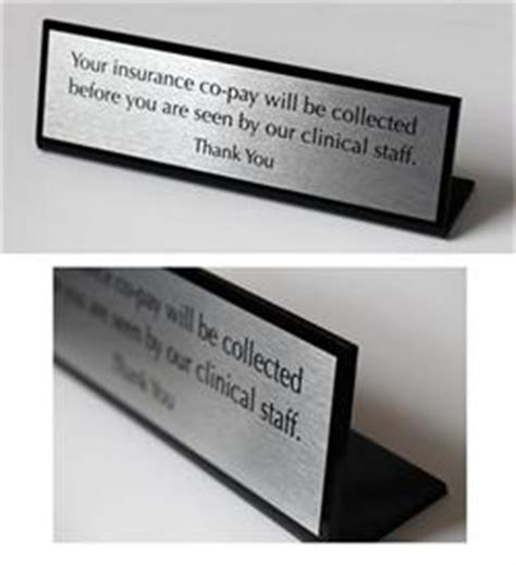 away from desk sign desk signs lobby nameplates office desk name plates