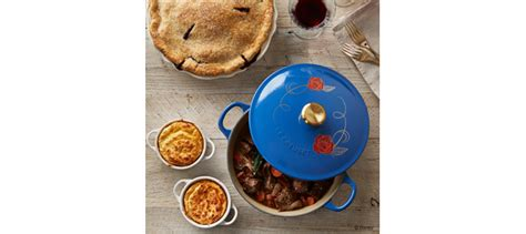 limited edition beauty and the beast le creuset cookware limited edition beauty and the beast soup pot by le