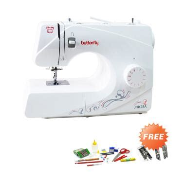 Baru2007 Handy Stitch Portable Handheld Sewing Machine Putih jual mesin jahit manual portable dan listrik harga murah