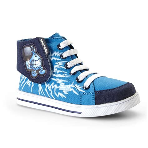 best athletic shoes for boys world industries willy boy s blue white high