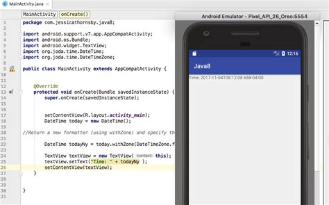 android java 8 java 8 for android development api and date time libraries codeholder net