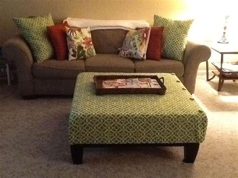 ottoman and matching pillows diy ottoman cover and matching pillows things i ve made