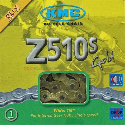 cadena kmc es buena cadena kmc z510g oro bmx color dorado para 1 velocidad