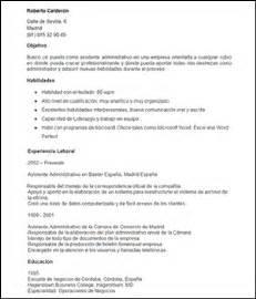 Plantilla De Curriculum Vitae Para Administrativo Modelo De Curriculum Vitae Objetivo Laboral Modelo De Curriculum Vitae